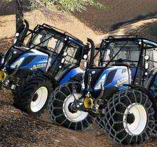 New Holland T5 With Forestry Upgrade V1.0 Mod for Farming Simulator 2019 (FS19)