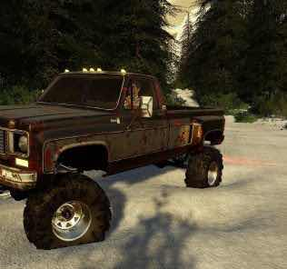 Exp19 Chevy 79 Singlecab Drw V1.0 Mod for Farming Simulator 2019 (FS19)