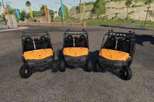 Mahindra Retriever V1.0.0.5 Mod for Farming Simulator 2019 (FS19)