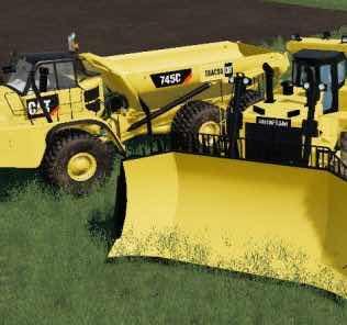 D11T Metal Tracks V1.0.0.1 Mod for Farming Simulator 2019 (FS19)