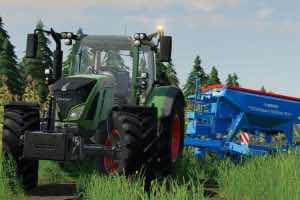 Lemken Compact-Solitair 9 V1.0.0.0 Mod for Farming Simulator 2019 (FS19)