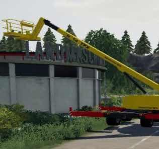 Nacelle Haulotte Ha14Px V1.5 Mod for Farming Simulator 2019 (FS19)