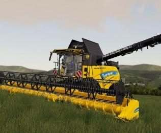 New Holland Cr 9.80 V1.0 Mod for Farming Simulator 2019 (FS19)