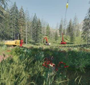 Madill 172 Tower Yarder V2.0 Mod for Farming Simulator 2019 (FS19)