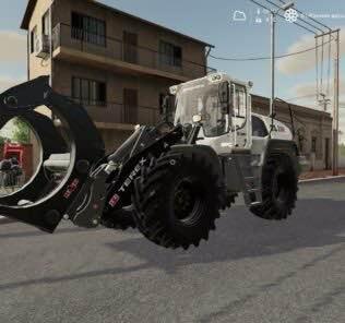 Terex Tl260 V1.0 Mod for Farming Simulator 2019 (FS19)