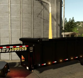 20Ft Gooseneck Tipper Trailer V1.0 Mod for Farming Simulator 2019 (FS19)