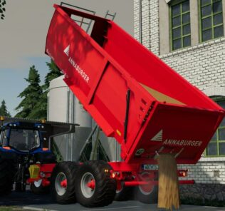 Annaburger Hts V20.12 Mod for Farming Simulator 2019 (FS19)