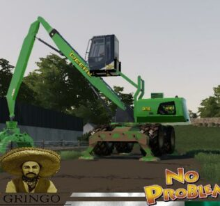 Forestry Deere 2600G V1.5 Mod for Farming Simulator 2019 (FS19)