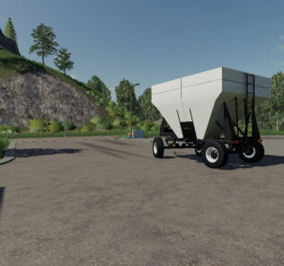 Gravity Wagon V1.0 Mod for Farming Simulator 2019 (FS19)