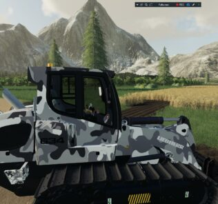 Liebherr 634 Ripper Edition + Atachable Ripper V1 Mod for Farming Simulator 2019 (FS19)