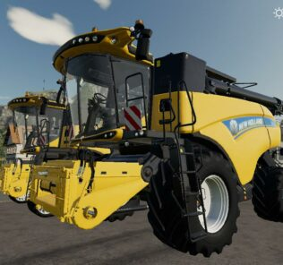 New Holland Cr1090 Mod for Farming Simulator 2019 (FS19)