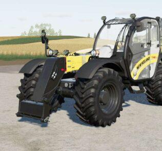 New Holland Th V7.42 Mod for Farming Simulator 2019 (FS19)