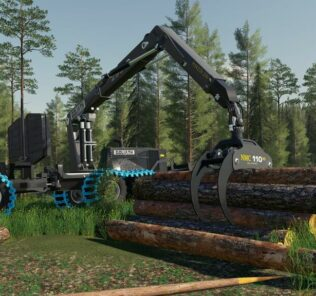 Nmc Goliath Forest Machines Mod for Farming Simulator 2019 (FS19)