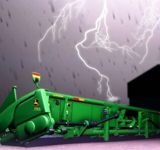 John Deere Corn Headers V1.0.0.1 Mod for Farming Simulator 2019 (FS19)