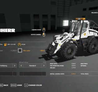 Liebherr L-538 Forestrier V2.0 Mod for Farming Simulator 2019 (FS19)