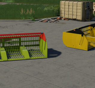 Lizard Hi-Force High-Tip Root Basket V1.0 Mod for Farming Simulator 2019 (FS19)