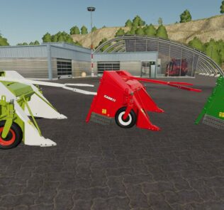 Lizard Poplar Cutter V1.0 Mod for Farming Simulator 2019 (FS19)