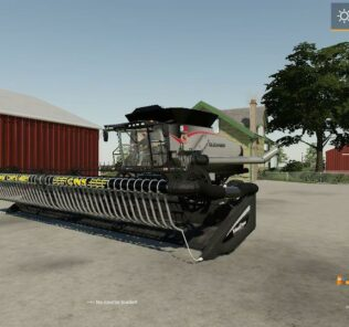 Macdon Fd75 Air Reel V1.0 Mod for Farming Simulator 2019 (FS19)