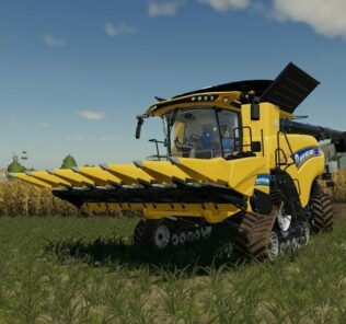 New Holland 980 Cf6 V1.1 Mod for Farming Simulator 2019 (FS19)