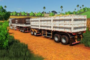 Randon Rodotrem Bulk Carrier Line R V1.0 Mod for Farming Simulator 2019 (FS19)