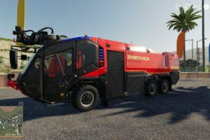 Rozenbauer Pantera V1.0 Mod for Farming Simulator 2019 (FS19)