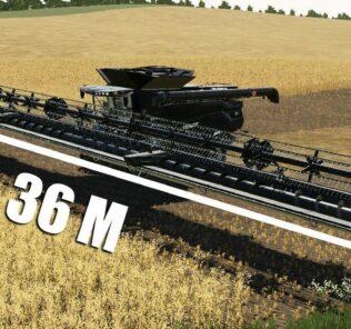 Barre De Coupe 36M V1.0 Mod for FS19 – Farming Simulator 2019