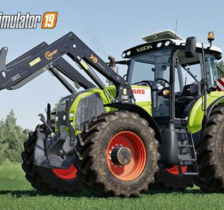Claas Axion 800 Series (First Generation) V2.0 Mod for FS19 – Farming Simulator 2019