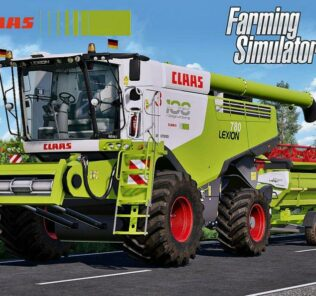 Claas Lexion 700 Series Full Pack V3.0 Mod for FS19 – Farming Simulator 2019