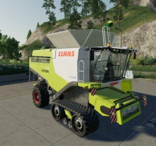 Claas Lexion 770 Stage Iv V1.0.0.0 Mod for FS19 – Farming Simulator 2019