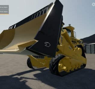 D11 Bulldozer V1.0.0.0 Mod for FS19 – Farming Simulator 2019