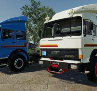 Iveco 190F35 T V1.0 Mod for FS19 – Farming Simulator 2019
