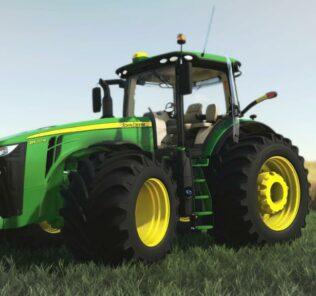 John Deere 8R Us Series V1.0.0.0 Mod for FS19 – Farming Simulator 2019