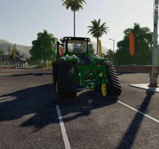 John Deere 9Rx Mod for FS19 – Farming Simulator 2019