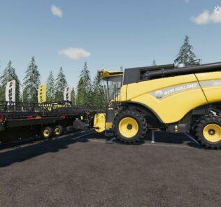 New Holland Cr10.90 V1.0 Mod for FS19 – Farming Simulator 2019
