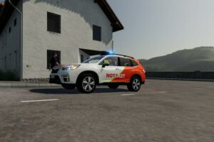 Subaru Forester Nef V1.0 Mod for FS19 – Farming Simulator 2019