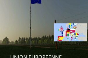 Union Europeenne V1.0.0.1 Mod for FS19 – Farming Simulator 2019