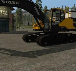 Volvo Ec300E V1.0 Mod for FS19 – Farming Simulator 2019