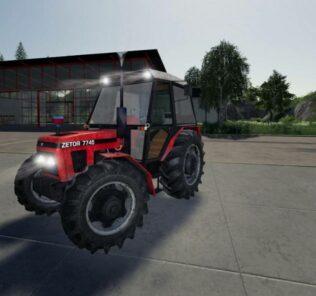 Zetor 7745 V1.0 Mod for FS19 – Farming Simulator 2019