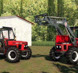 Zetor 7745 V2.0 Mod for FS19 – Farming Simulator 2019
