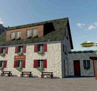 Bar Vinoteca V1.0 Mod for Farming Simulator 2019 (FS19)