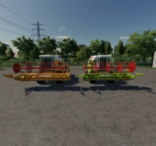 Claas Dominator 106 V1.0 Mod for Farming Simulator 2019 (FS19)