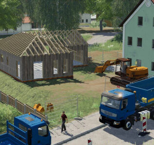 Demolishable House V1.0 Mod for Farming Simulator 2019 (FS19)