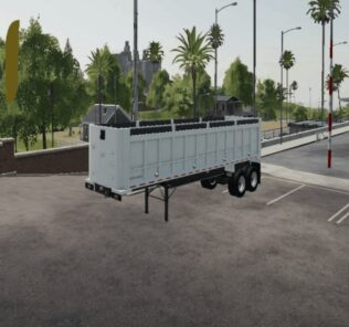 East Framed End Dump V1.0 Mod for Farming Simulator 2019 (FS19)