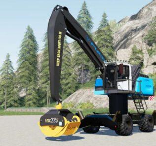Fuchs Mhl 360 V1.0 Mod for Farming Simulator 2019 (FS19)