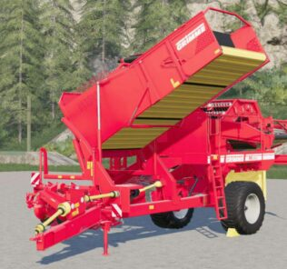 Grimme Se 260 Tire Configurations Mod for Farming Simulator 2019 (FS19)