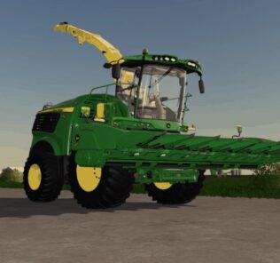 John Deere 608C Earlage Header Mod for Farming Simulator 2019 (FS19)