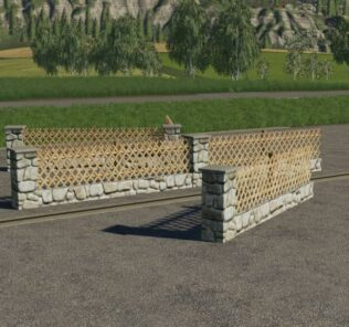 New Fence Pack V1.0 Mod for Farming Simulator 2019 (FS19)