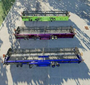 New Holland 3162 Draper 45Ft V1.0 Mod for Farming Simulator 2019 (FS19)