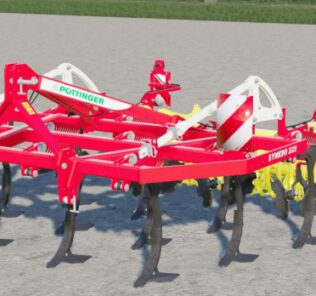 Pottinger Synkro 3030 Nova Dynamic Mod for Farming Simulator 2019 (FS19)