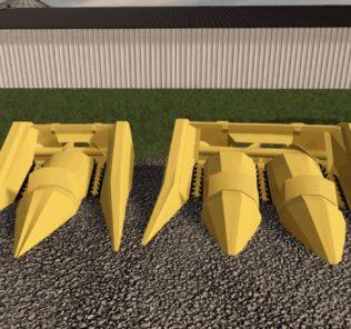 Pulltype Earlage Headers V1.0 Mod for Farming Simulator 2019 (FS19)
